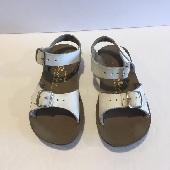 1831aaa6a9ad2 Sun San surfers white children's sandals. M_5c75cf57a31c33605e657aa2. Other  Shoes you may like. Saltwater ...
